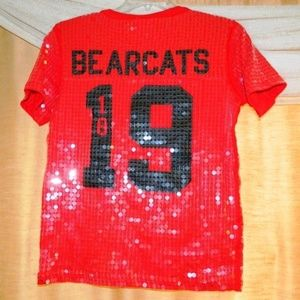 LIMITED EDITION PINK VS NFL Sequins Jersey
